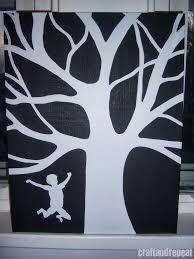 hand sketched vinyl stencils i painted my canvas