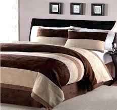 teal and brown comforter