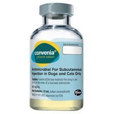 Convenia Dose Chart Convenia 80 Mg Ml Powder And Solvent For Solution Pom
