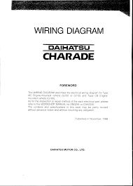 daihatsu wiring diagram wiring diagram user page 1 daihatsu charade 1988 misc documents wiring diagram pdf daihatsu wiring diagram daihatsu wiring diagram