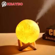 KBAYBO <b>880ML</b> 3D Print Moon Lamp USB <b>Air Humidifier Ultrasonic</b> ...