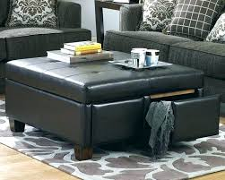 square coffee table ottoman brown leather square ottoman catchy square ottoman with storage best images about