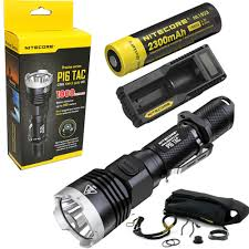 Tac Lights Us 86 95 Nitecore P16 Tac 1000 Lumens Cree Xm L2 U3 Led Tactical Flashlight Hunting Search Torchs With 2300mah 18650 Battery And Charger In