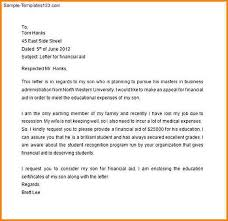 Financial Aid Request Letter Example Filename Reinadela Selva