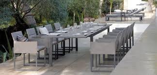Table Manger Contemporaine En Verre En Aluminium En