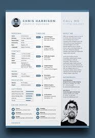 Adobe Resume Template Beauteous 28 Free Editable Minimalist Resume CV In Adobe Illustrator And