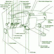 nissan sentra b14 fuse box diagram nissan wiring diagram gallery 2013 nissan sentra starter relay location at Nissan Sentra 2013 Fuse Box