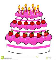 Birthday Cake Drawing Cartoon 53 20 Designatprintingcom