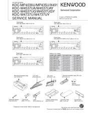 kenwood kdc mpu manuals kenwood kdc mp435u service manual
