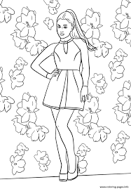 Small Picture Ariana Grande Celebrity Coloring Pages Printable