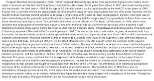 thurgood marshall essay thurgood marshall essay plea ip thurgood  thurgood marshall essay plea my ip methurgood marshall biography essay at comessay on thurgood marshall biography