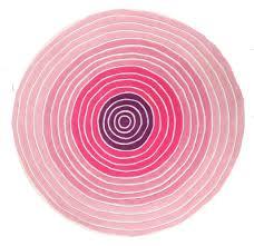 homey round kids rugs cute kub 124 pink rug rugtastic