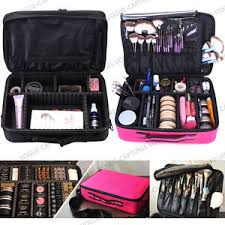 image is loading pro large makeup bag cosmetic case storage handle