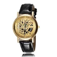new fashion dress mens watches skeleton transparent stainless new fashion dress mens watches skeleton transparent stainless steel quartz wrist watch women pretty watches luxury leather prestige watches bling watches
