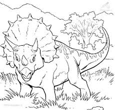 Triceratops Face Coloring Page Best Photos Of Dinosaur Face