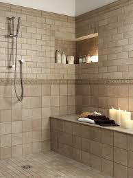 Perfect Tile Shower Bench Carmel Tile Indianapolis Tiled Showers With Bench