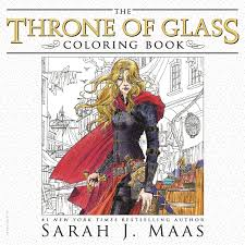 the throne of gl coloring book amazon co uk sarah j maas yvonne gilbert john howe craig phillips 9781681193519 books