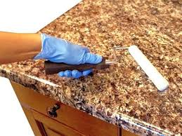 countertop paint ideas give a new look to the dated work surface