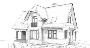 architecture houses sketch. Perfect Sketch Creative Of House Design Drawing Attractive Sketch  Houses And Gardens To Architecture N