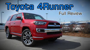 2017 Toyota 4Runner: Full Review | Limited, TRD Off-Road Premium ...