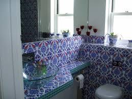 mediterranean bathroom by turkish tiles