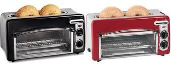 toaster oven hamilton beach hamilton beach toastation 2 in 1 2 slice toaster oven hamilton beach