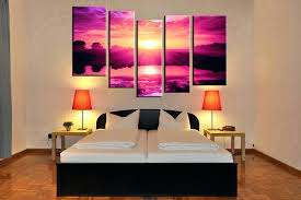 canvas art for bedroom bedroom decor 5 piece canvas wall art ocean rh azhomeers pro master bedroom wall art canvas painting wall art