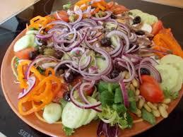 Makkelijke salade bijgerecht