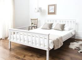 white wood bed frame white wooden bed home decoration s white wood super king size bed