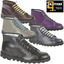 details about grafters monkey boots men s women s kids retro leather shoes clearance