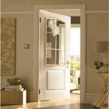 internal white moulded unfinished camden 6l door with simulated etched clear glass aphcmn se