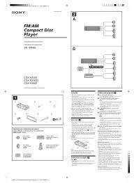 sony cdx r3300 wiring diagram sony cdx gt200 manual \u2022 wiring sony cdx-gt310 price at Sony Cdx Gt310mp Wiring Diagram
