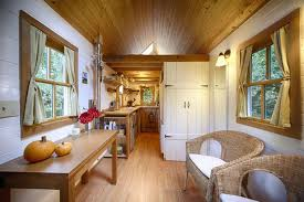 Small Picture Cozy Tiny House on Wheels Home Design Garden Architecture
