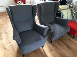 strandmon chair cover 1 wing chair sofa strandmon wing chair cover