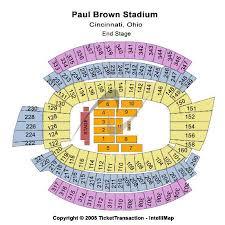 Paul Brown Stadium Tickets And Paul Brown Stadium Seating