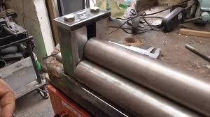 sheet metal roll how im restoring my old sheet metal roller second life part 1 of 2