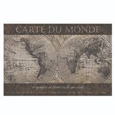 french world map poster 24
