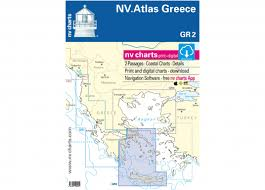 Boat Chart App Atlas Greece Gr2 Crete To Athens