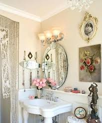 shabby chic bathroom lighting. shabby chic bathroom lighting beautiful decorating with flowers ceiling light . vanity n