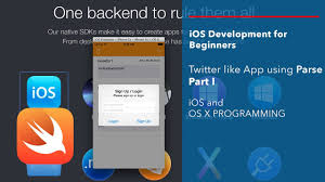 Apps Using Ios And Swift Beginner Tutorial App Like Twitter Using Parse Part 1