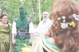 wiccan wedding. Woodland Wiccan Medieval Fantasy Wedding Six Hearts Photography