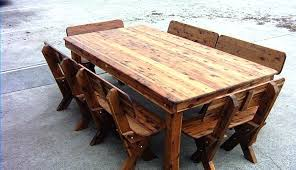 full size of wooden outdoor table and chairs bunnings timber round outside wood plans decorating glamorous