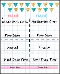 Joy And Gladness Of Heart Medicine Chart For Kids Inspiration