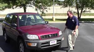Pre Owned 1998 Toyota Rav-4 4wd for sale at Honda Cars of Bellevue ...