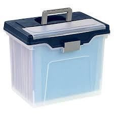 Office Depot Brand Mobile File Box