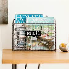 Living Room Magazine Holder Interesting Simple Living Room Wall Hanging Creative Newspaper Frame 32X32X32cm
