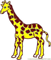 Giraffe Coloring Page Pages Giraffes Baby Printable Betterfor
