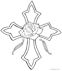Crosses Coloring Pages The Cross Christian Crosses Coloring Pages