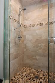 Glass Enclosed Showers glass enclosed shower graybrown tile shower with st martin 2671 by xevi.us