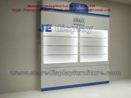 Mobile Display Cabinet Modern Furniture In Wall Display Cabinet With Metal Racks And